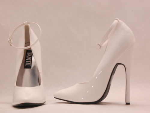 Women's Shoes wallpaper titled white high heels