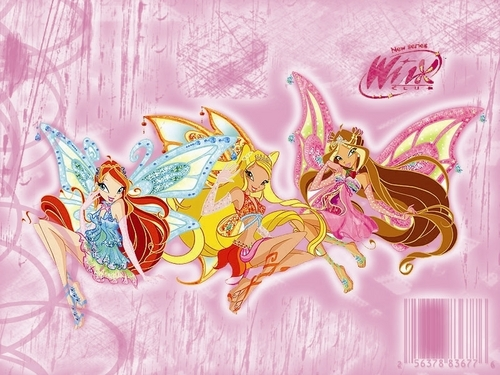 The Winx Club wallpaper called winx enchantix bloom,stella,flora
