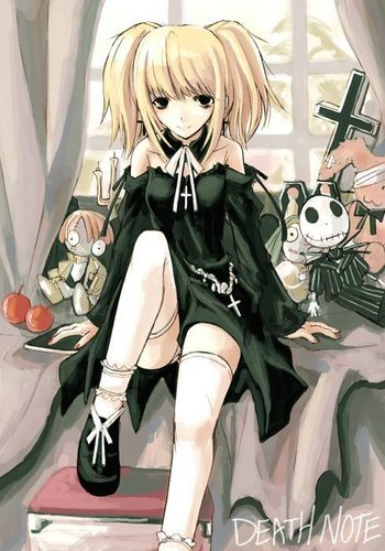 Misa Amane wallpaper possibly containing Anime and a portrait titled [Misa]