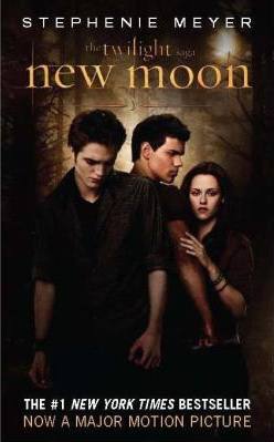 *NEW* New Moon book cover.