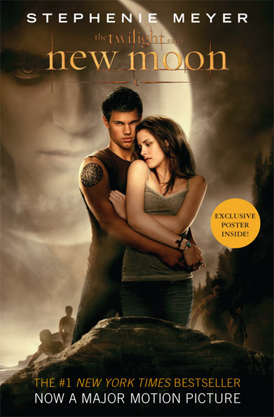 'New Moon' movie tie-in book cover revealed: An EW Exclusive