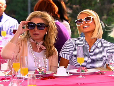 Paris Hilton's My New BFF wallpaper containing sunglasses called 1.02 24 hour Party Challenge