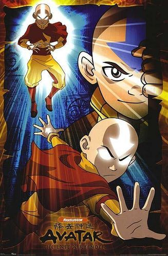 Avatar The Last Airbender karatasi la kupamba ukuta with anime titled Aang fanart