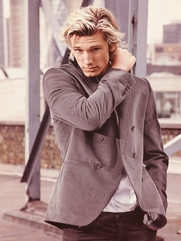Alex Pettyfer wallpaper possibly containing an outerwear, a well dressed person, and a box coat titled Alex Pettyfer