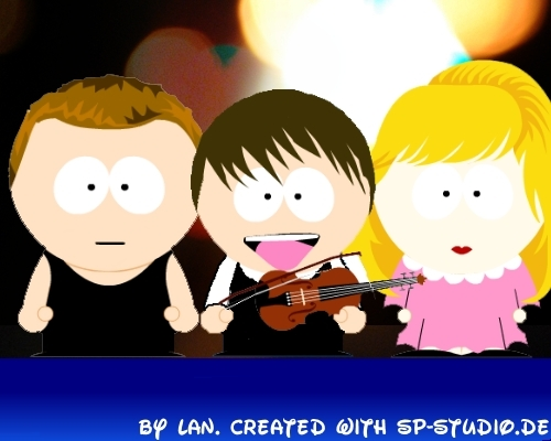 Alexander Rybak South Park Style