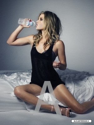 Ali Larter wallpaper probably with a leotard and a bottled water titled Ali