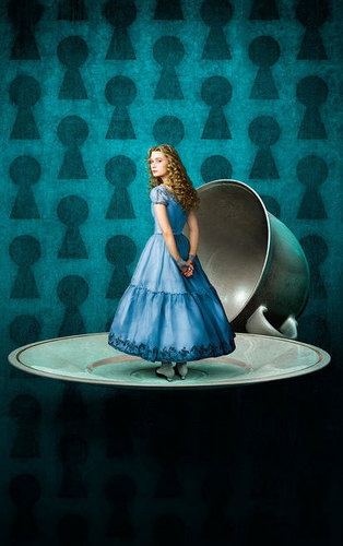 Alice, Played by Mia Wasikowska (OFFICIAL)
