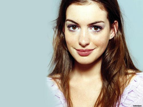 Anne Hathaway wallpaper containing a portrait entitled Anne