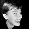 Audrey Hepburn picha containing a portrait entitled Audrey