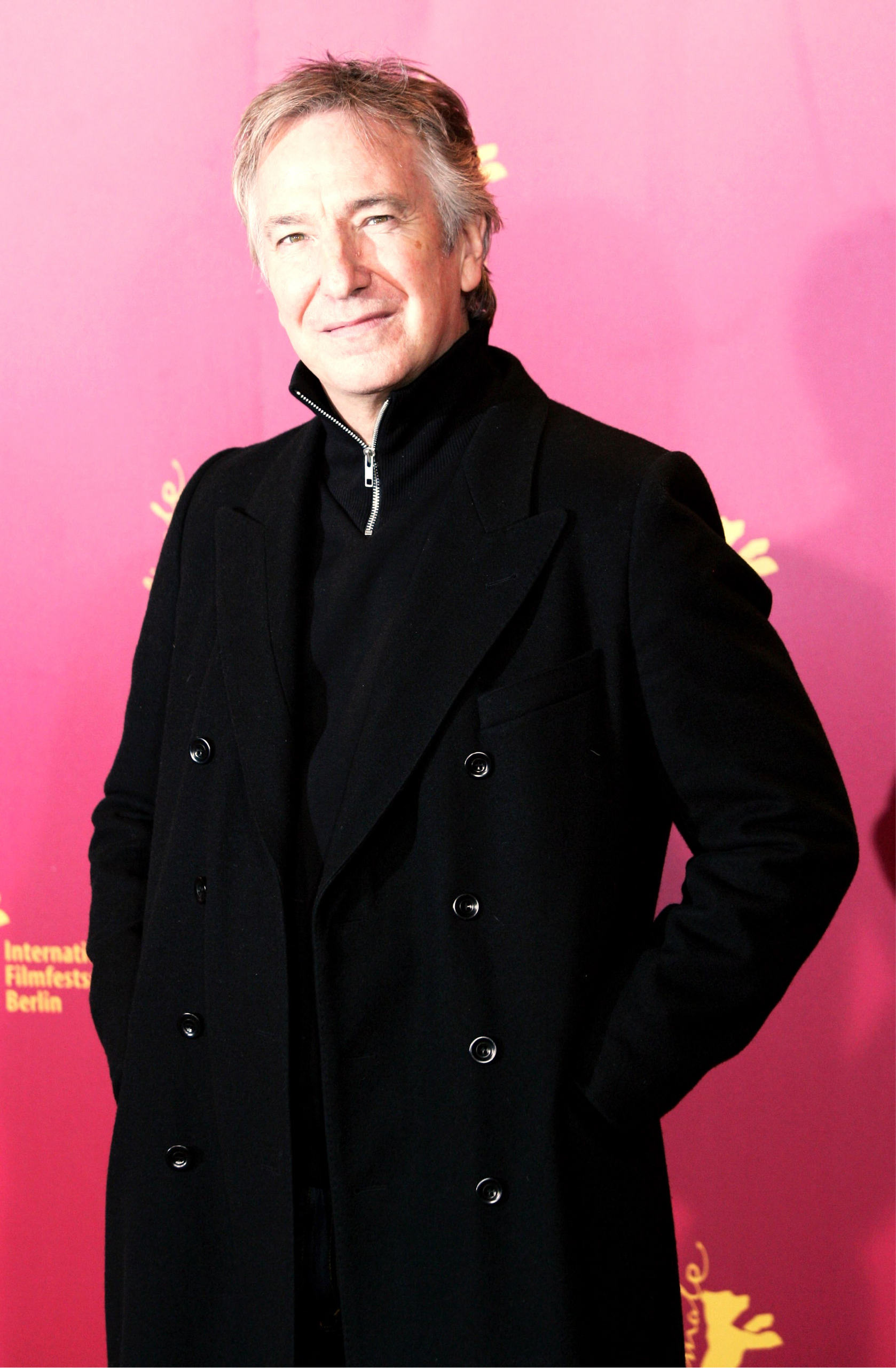 berlinale - alan rickman photo (6805870) - fanpop