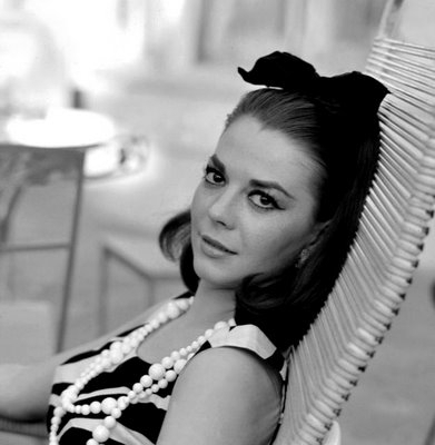 Natalie Wood wallpaper titled Black and White
