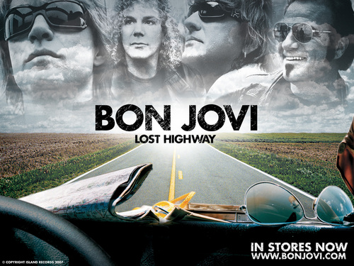 ボン・ジョヴィ 壁紙 with a sign entitled Bon Jovi