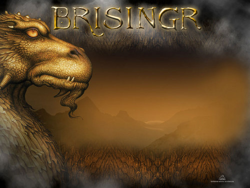 eragon fondo de pantalla probably containing a pacific walrus, a sign, and an atlantic walrus titled Brisingr-Wallpaper