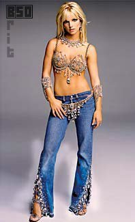Britney Spears fond d'écran probably containing bellbottom trousers, a jean, and a pantleg, pantalon titled Britney 2002