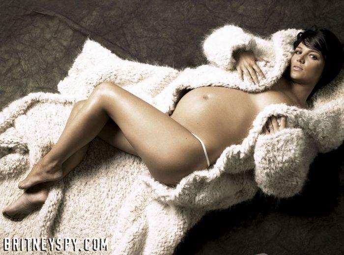 Фото красивых голых мам