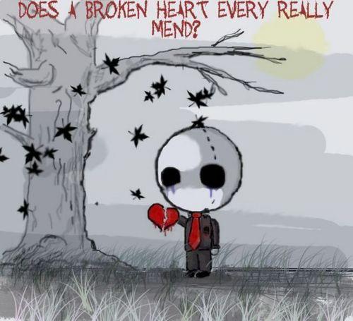 Broken tim, trái tim