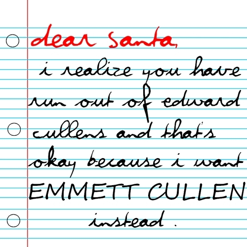 Brysis...I found your letter to Santa!!