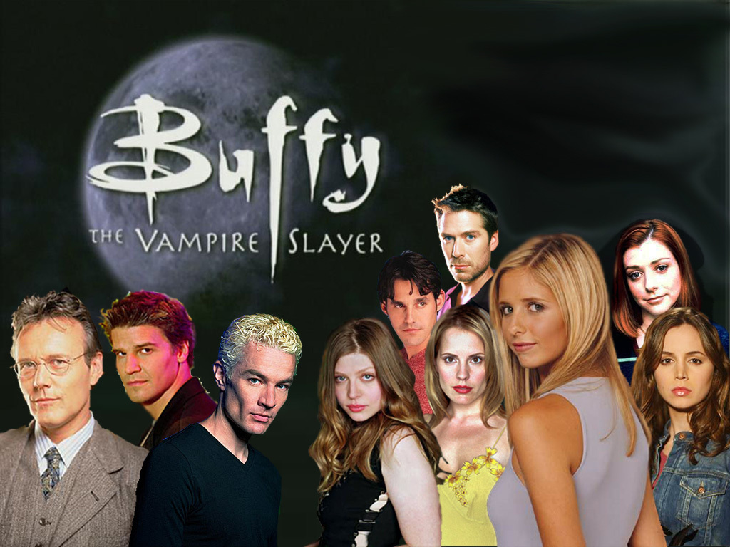 Buffy Collage buffy the vampire slayer 6889648 1024 768 Buffy 4ª Temporada Rmvb Legendado