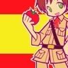 hetalia foto possibly containing anime entitled chibi Spain