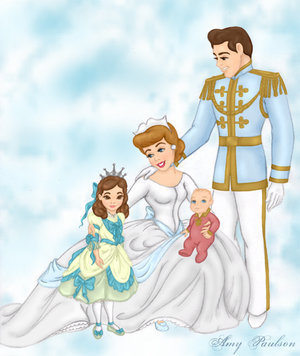disney princesas wallpaper entitled Cinderella' Family