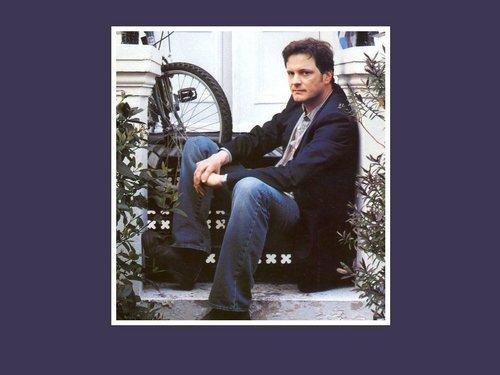 Colin Firth karatasi la kupamba ukuta