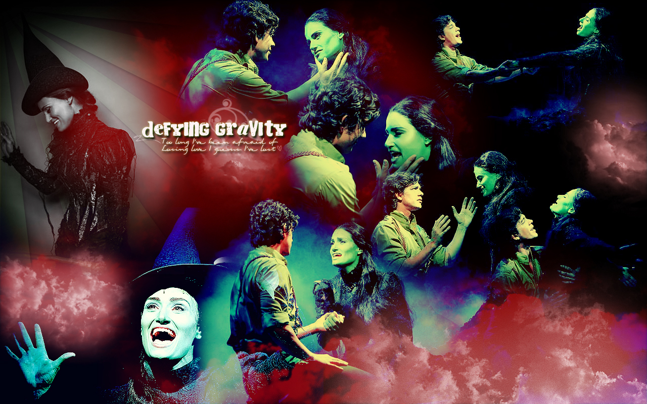 defying gravity wicked wallpaper 6814093 fanpop