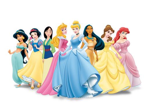 Snow White karatasi la kupamba ukuta entitled Disney Princesses