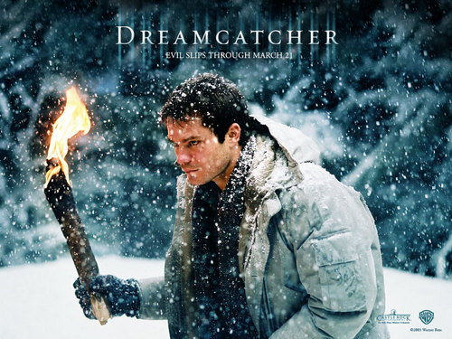Horror فلمیں پیپر وال probably with a آگ کے, آگ entitled Dreamcatcher