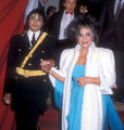 Elizabeth Taylor and Michael Jackson
