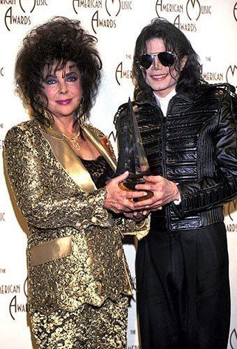 Elizabeth With Michael Jackson