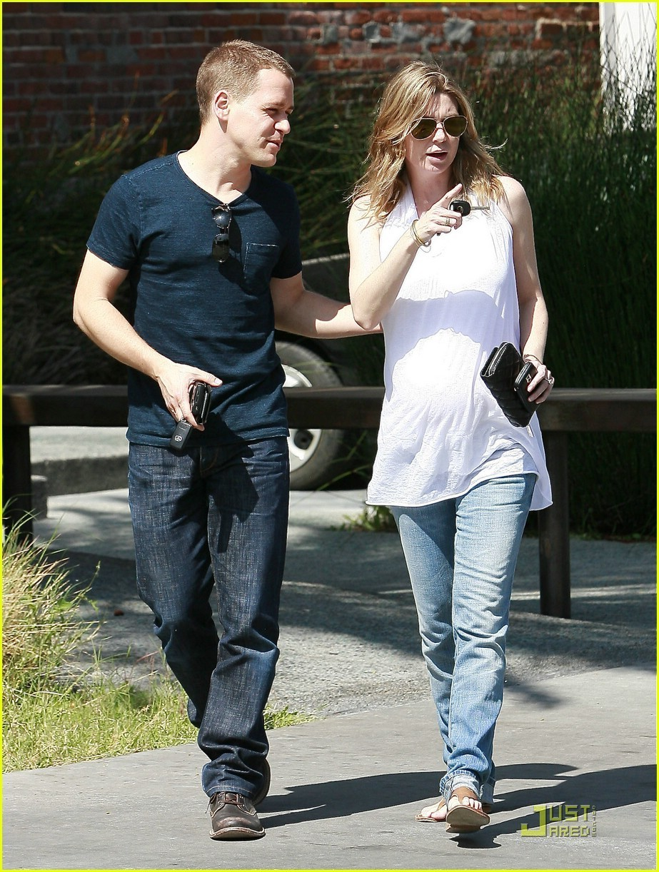 Ellen Pompeo and T.R. Knight