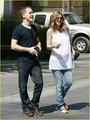 Ellen Pompeo and T.R. Knight - greys-anatomy photo