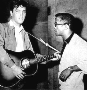 Elvis And Sammy Davis JR