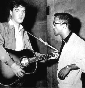 Elvis And Sammy Davis JR