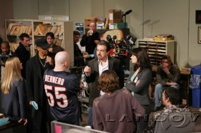 Emily/Paget- Behind the scenes