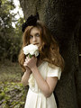Evening Standard fotografia Shoot - Bonnie Wright