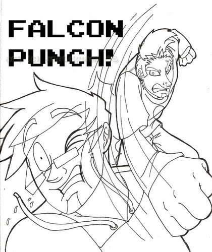 valk, falcon PUNCH!!