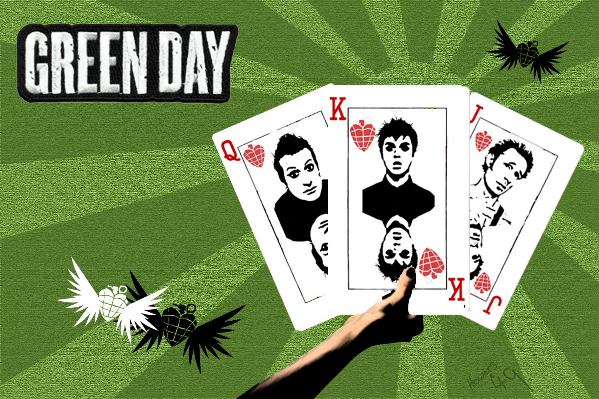 Greenday wall paper  Green Day Photo 6897466  Fanpop