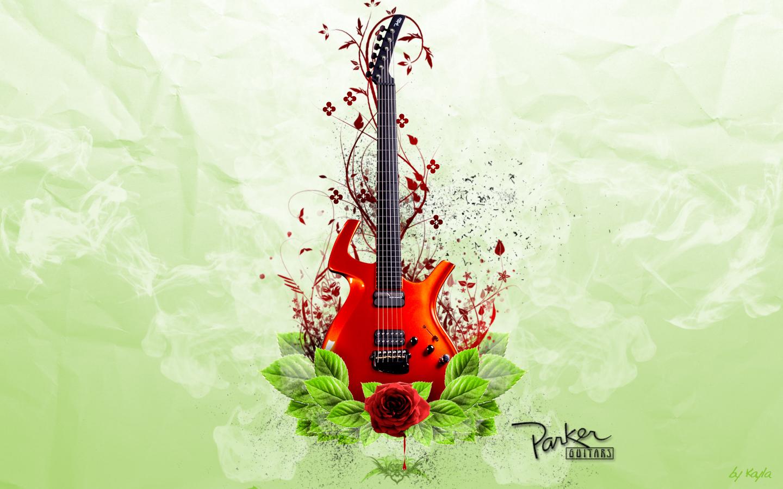 guitar wallpaper photoshop fan art 6855824 fanpop