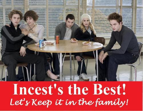 Critical Analysis of Twilight wallpaper entitled Incest's the Best! Cullen Family