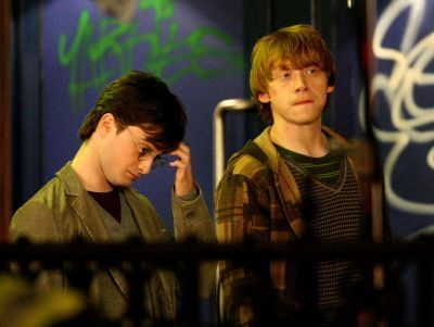 Harry Potter and the Deathly Hallows - On Set Filming