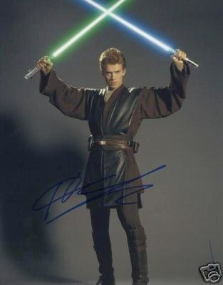 Hayden Christensen autograph