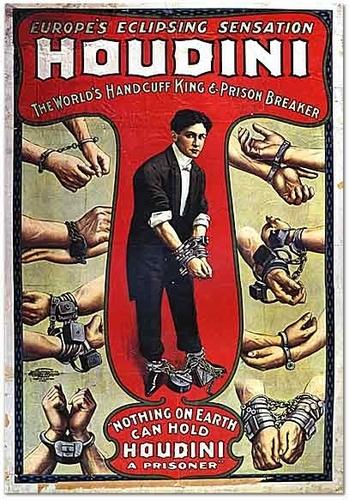 Houdini Theatre Poster