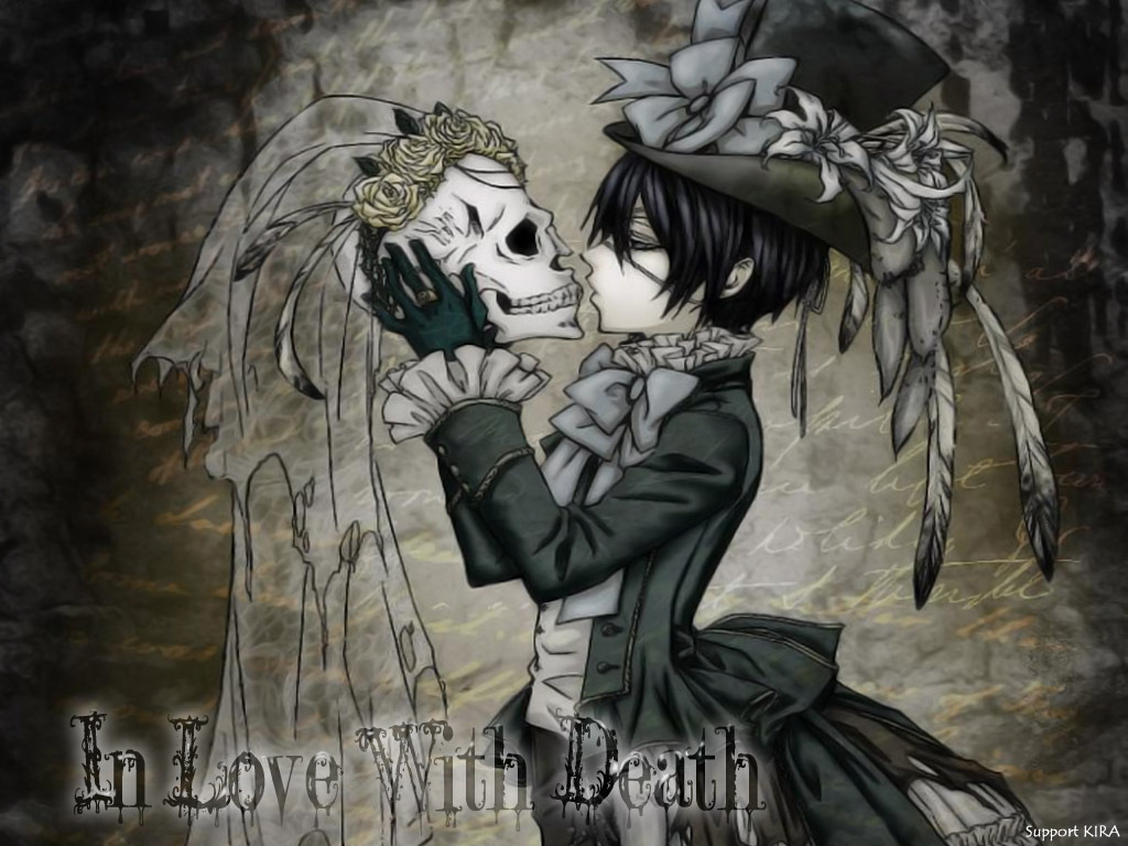 Kuroshitsuji images In Love With Death HD wallpaper and background photos