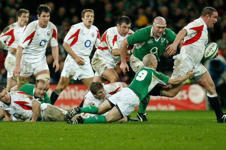 England Rugby Union Images Ireland V