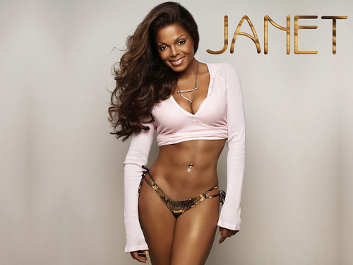 Janet Jackson wallpaper probably containing a bikini and a swimsuit titled Janet Jackson >3333