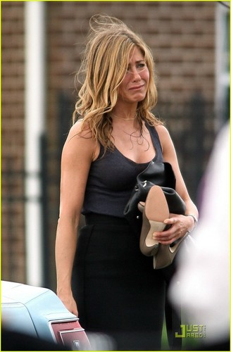 Jennifer filming in New Jersey