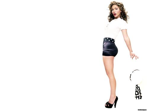 Jennifer Lopez wallpaper possibly containing a chemise, tights, and a playsuit entitled Jennifer