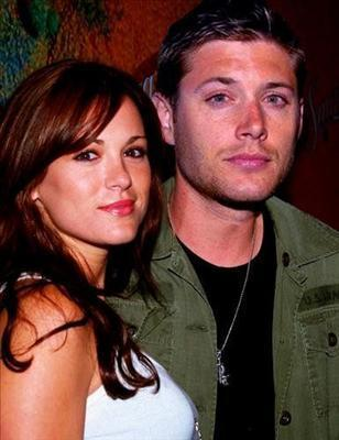 Jensen Ackles and Daneel Harris