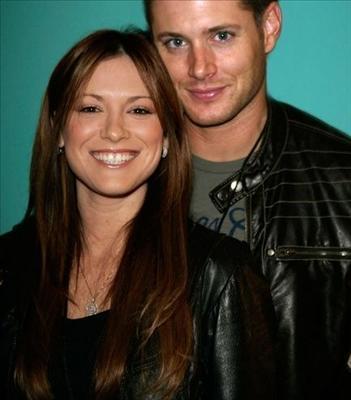 Jensen Ackles and Daneel Harris